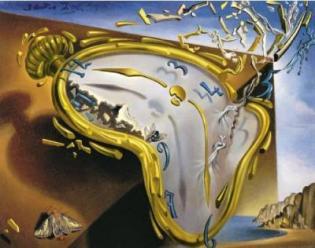 Clock di Salvador Dalì