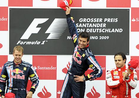 Mark Webber win
