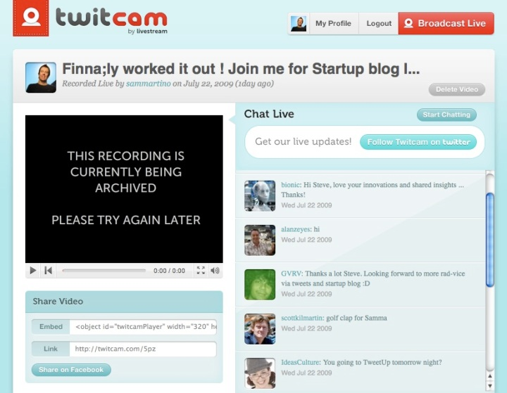 Steve Sammartino on twit cam