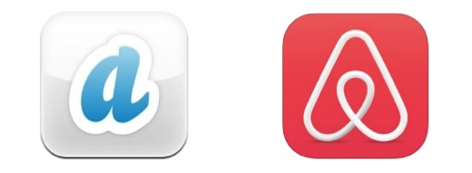 airbnb app icons old & new