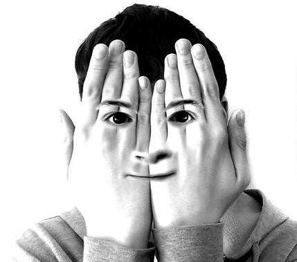 hiding hands
