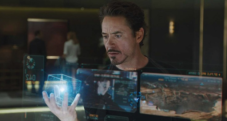 Tony Stark Augmented Reality