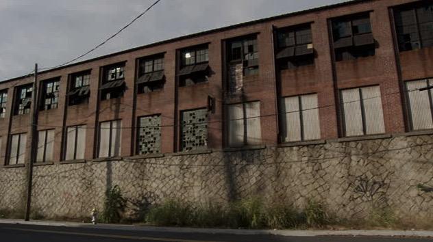 Abandoned factory USA