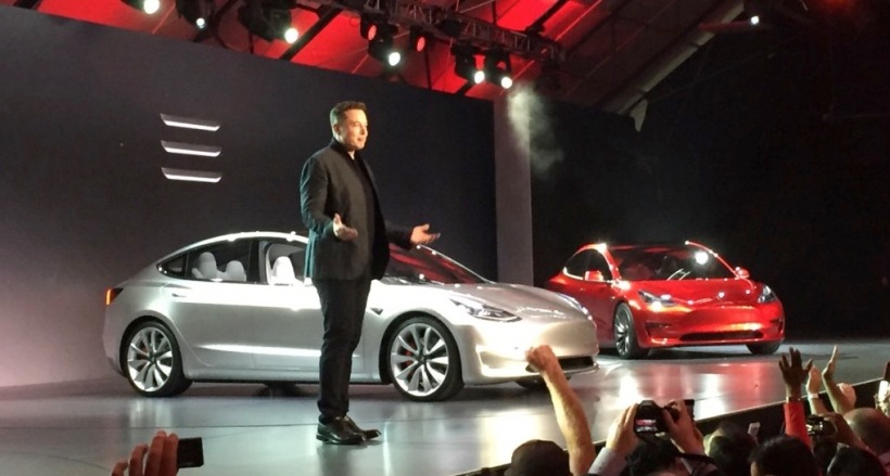 Tesla Model 3 Launch