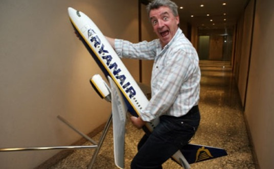 Ryan Air CEO
