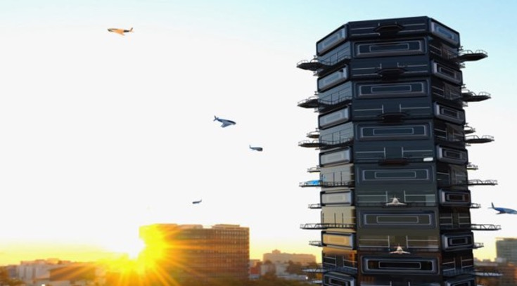drone landing pads